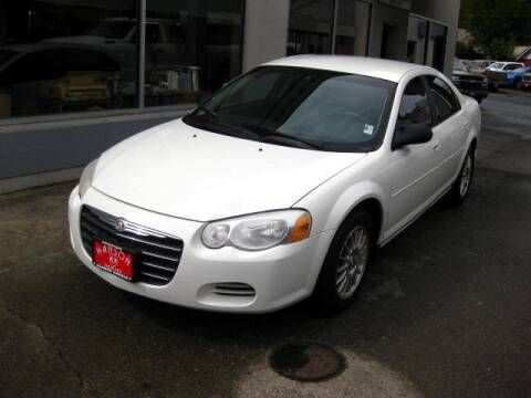 2004 Chrysler Sebring LX for sale at Hanson Garage Inc in Orofino ID