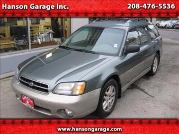 2002 Subaru Outback for sale in Orofino, ID