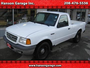 2003 Ford Ranger for sale in Orofino, ID