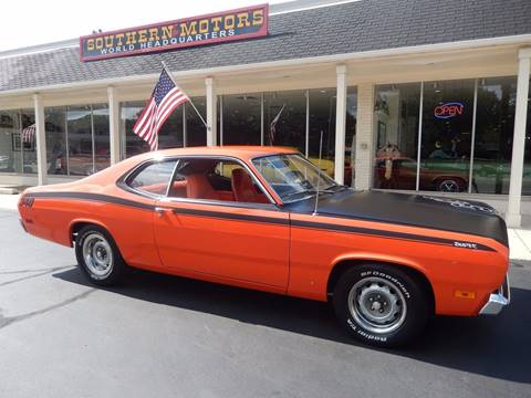 1971 Plymouth Duster for sale in Clartston, MI