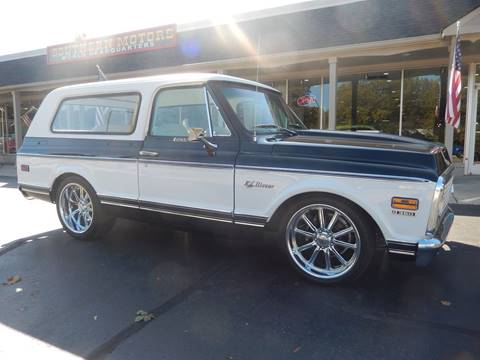 1972 Chevrolet Blazer for sale in Clartston, MI