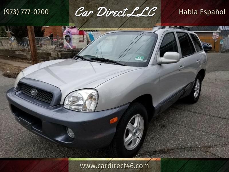 Elegant 2004 Hyundai Santa Fe For Sale At Car Direct LLC In Lodi NJ