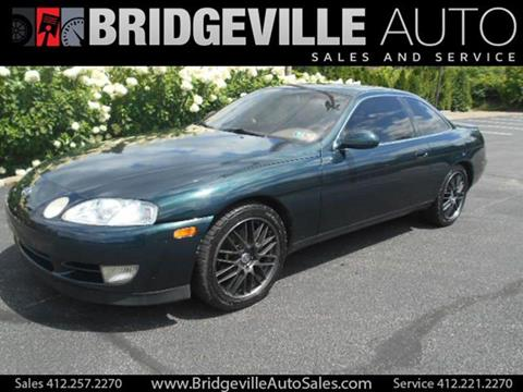 1992 Lexus SC 400 for sale in Bridgeville, PA