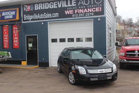 2006 Ford Fusion for sale in Bridgeville, PA