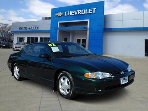 2002 Chevrolet Monte Carlo for sale in Dayton, OH