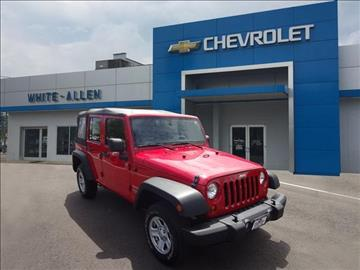 2012 Jeep Wrangler Unlimited for sale in Dayton, OH