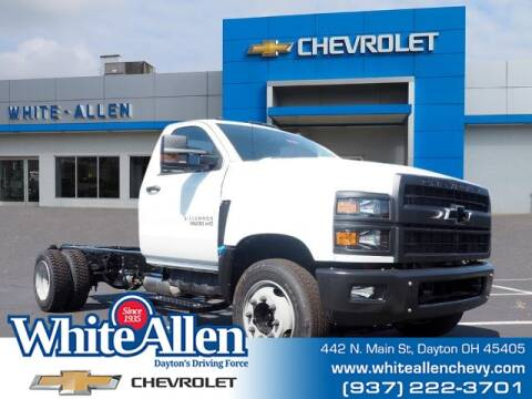 2020 Chevrolet Silverado 5500HD for sale at WHITE-ALLEN CHEVROLET in Dayton OH