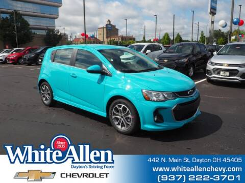 2020 Chevrolet Sonic for sale at WHITE-ALLEN CHEVROLET in Dayton OH