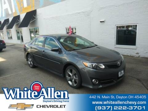 2014 Toyota Camry for sale at WHITE-ALLEN CHEVROLET in Dayton OH
