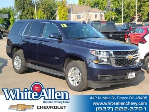2018 Chevrolet Tahoe for sale at WHITE-ALLEN CHEVROLET in Dayton OH