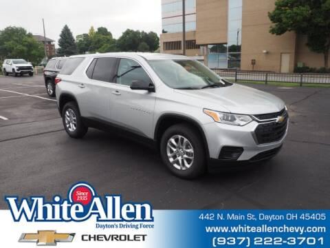 2020 Chevrolet Traverse for sale at WHITE-ALLEN CHEVROLET in Dayton OH