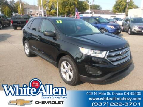 2017 Ford Edge for sale at WHITE-ALLEN CHEVROLET in Dayton OH