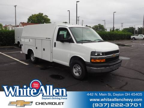 2020 Chevrolet Express Cutaway for sale at WHITE-ALLEN CHEVROLET in Dayton OH