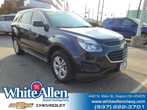 2017 Chevrolet Equinox for sale at WHITE-ALLEN CHEVROLET in Dayton OH