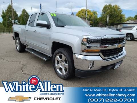 2017 Chevrolet Silverado 1500 for sale at WHITE-ALLEN CHEVROLET in Dayton OH