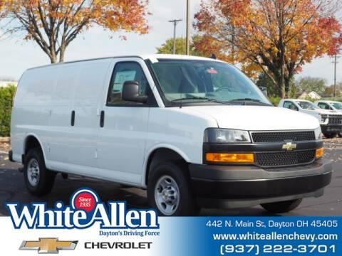 2020 Chevrolet Express Cargo for sale at WHITE-ALLEN CHEVROLET in Dayton OH