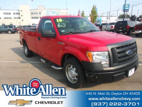 2010 Ford F-150 for sale at WHITE-ALLEN CHEVROLET in Dayton OH