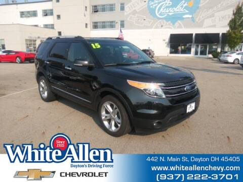 2015 Ford Explorer for sale at WHITE-ALLEN CHEVROLET in Dayton OH