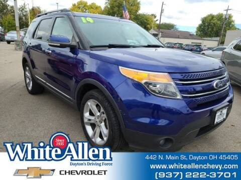2014 Ford Explorer for sale at WHITE-ALLEN CHEVROLET in Dayton OH