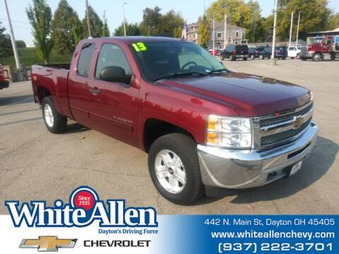 2013 Chevrolet Silverado 1500 for sale at WHITE-ALLEN CHEVROLET in Dayton OH