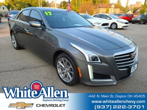 2017 Cadillac CTS for sale at WHITE-ALLEN CHEVROLET in Dayton OH