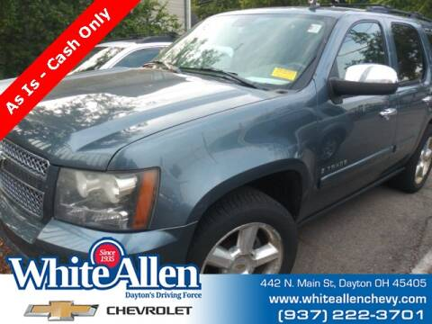 2008 Chevrolet Tahoe for sale at WHITE-ALLEN CHEVROLET in Dayton OH