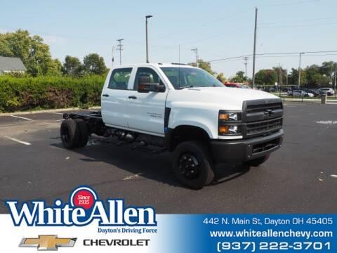 2020 Chevrolet Silverado 4500HD for sale at WHITE-ALLEN CHEVROLET in Dayton OH