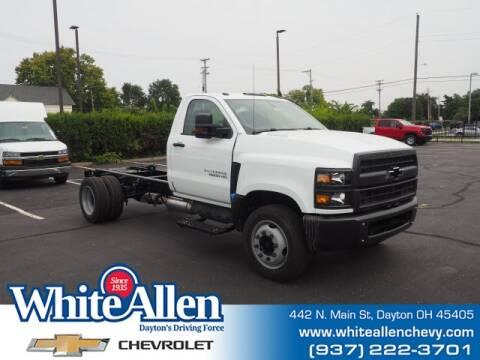2020 Chevrolet Silverado 6500HD for sale at WHITE-ALLEN CHEVROLET in Dayton OH