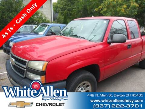 2006 Chevrolet Silverado 1500 for sale at WHITE-ALLEN CHEVROLET in Dayton OH