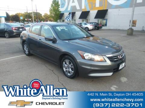2012 Honda Accord for sale at WHITE-ALLEN CHEVROLET in Dayton OH