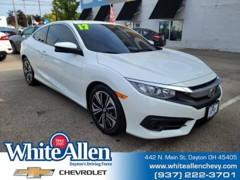 2017 Honda Civic for sale at WHITE-ALLEN CHEVROLET in Dayton OH