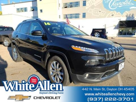 2016 Jeep Cherokee for sale at WHITE-ALLEN CHEVROLET in Dayton OH