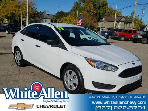 2017 Ford Focus for sale at WHITE-ALLEN CHEVROLET in Dayton OH