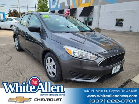 2018 Ford Focus for sale at WHITE-ALLEN CHEVROLET in Dayton OH