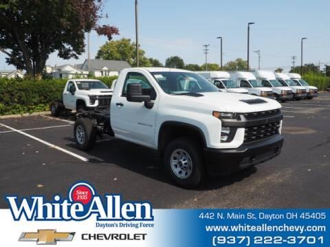 2020 Chevrolet Silverado 3500HD CC for sale at WHITE-ALLEN CHEVROLET in Dayton OH
