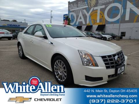 2012 Cadillac CTS for sale at WHITE-ALLEN CHEVROLET in Dayton OH
