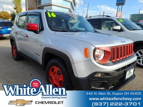 2016 Jeep Renegade for sale at WHITE-ALLEN CHEVROLET in Dayton OH