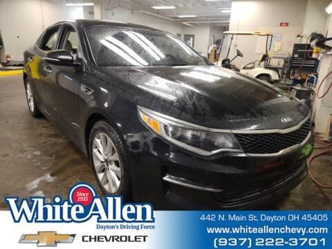 2016 Kia Optima for sale at WHITE-ALLEN CHEVROLET in Dayton OH