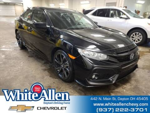 2018 Honda Civic for sale at WHITE-ALLEN CHEVROLET in Dayton OH