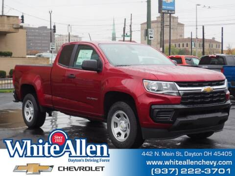 2021 Chevrolet Colorado for sale at WHITE-ALLEN CHEVROLET in Dayton OH
