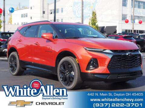 2021 Chevrolet Blazer for sale at WHITE-ALLEN CHEVROLET in Dayton OH