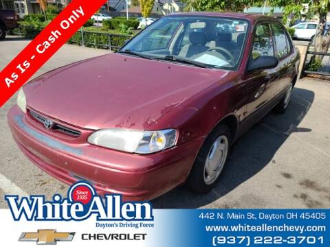 1999 Toyota Corolla for sale at WHITE-ALLEN CHEVROLET in Dayton OH