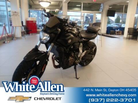 2016 Yamaha FZ 07 for sale at WHITE-ALLEN CHEVROLET in Dayton OH
