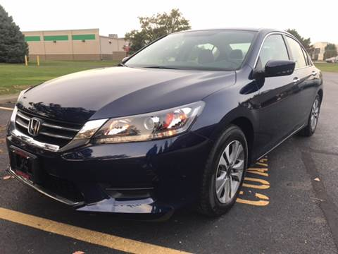2015 Honda Accord for sale at Columbus Car Warehouse in Columbus OH