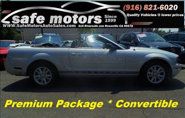 2005 Ford Mustang for sale in Roseville, CA