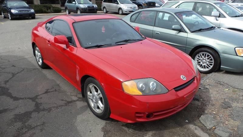 2004 Hyundai Tiburon for sale at TRANS P in East Windsor CT
