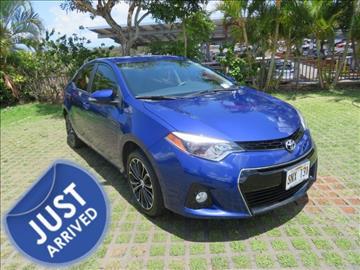 2015 Toyota Corolla for sale in Waipahu, HI