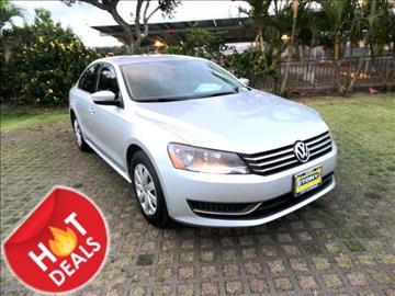 2013 Volkswagen Passat for sale in Waipahu, HI