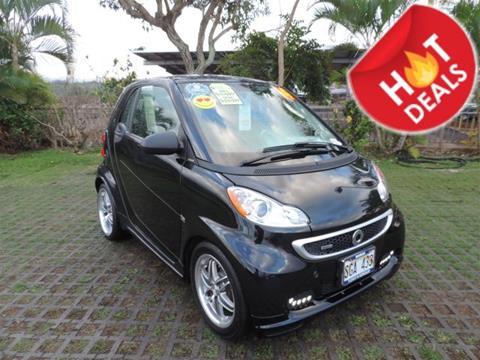 2014 Smart fortwo for sale in Waipahu, HI