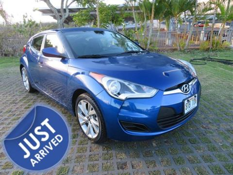 2016 Hyundai Veloster for sale in Waipahu, HI